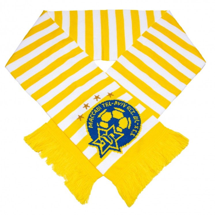 Yellow&White Scarf