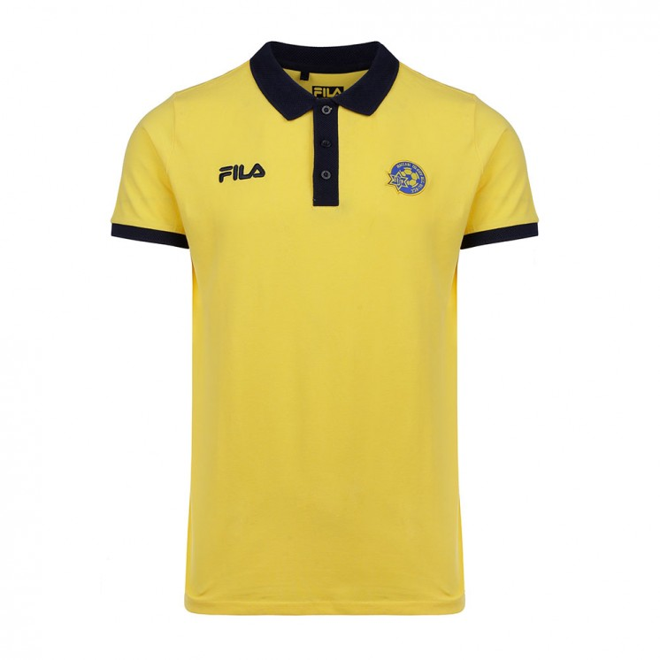 Yellow FILA Polo Shirt - Kids