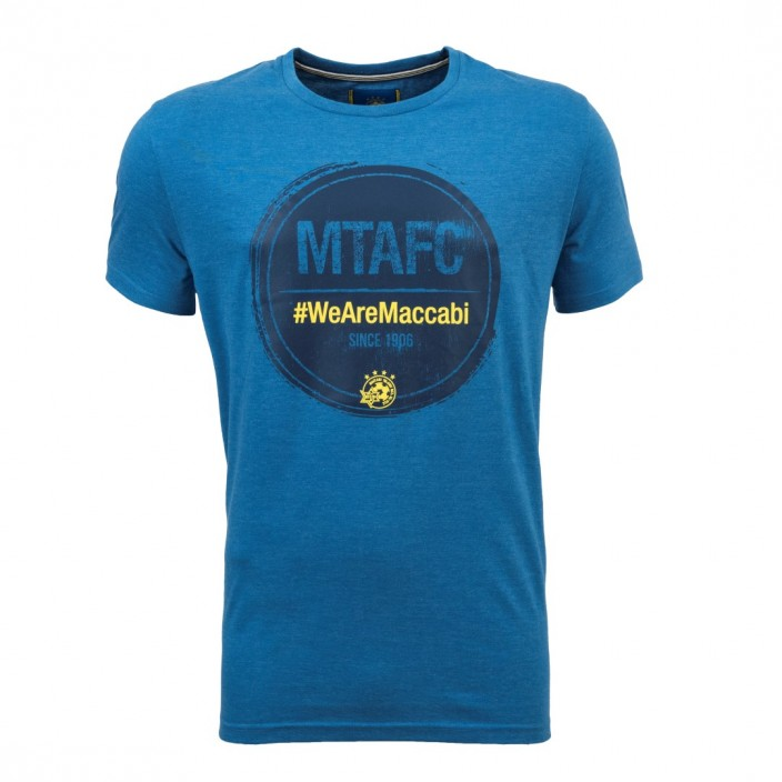 Blue Men Shirt - We Are Maccabi