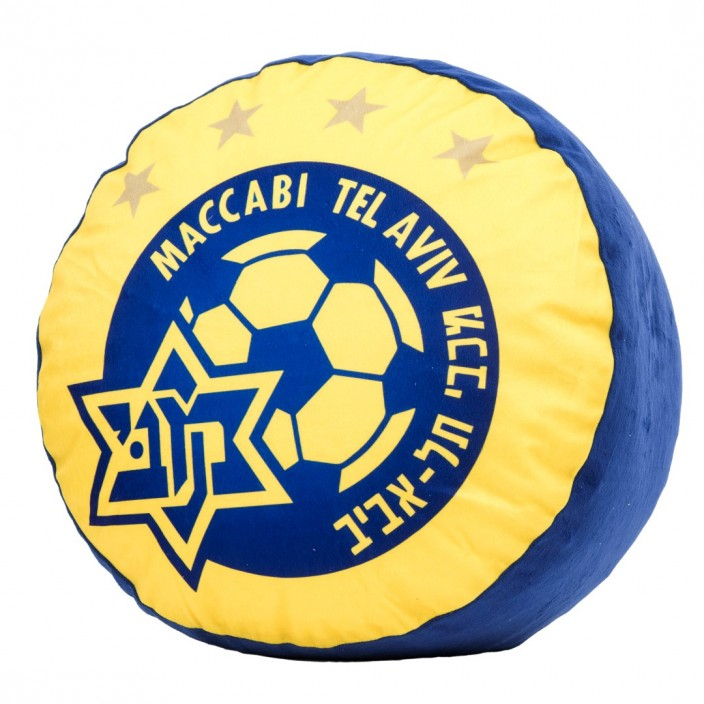 Maccabi stool with logo