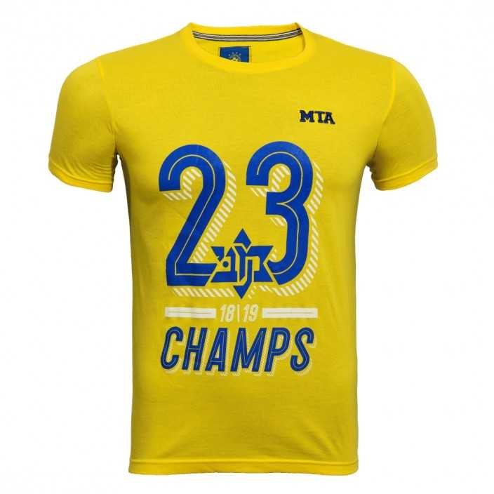 Championship 18/19 Yellow Shirt