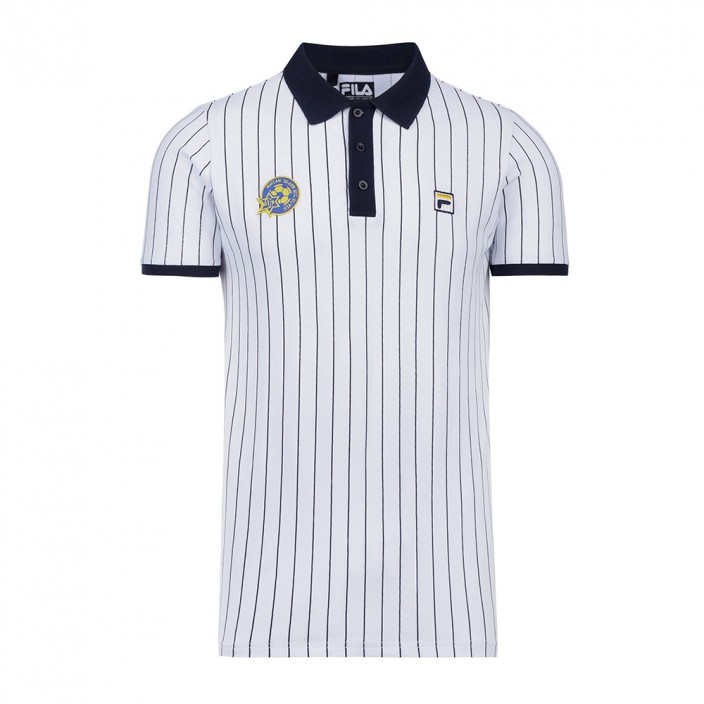 Stripes (White) FILA Polo Shirt - Men