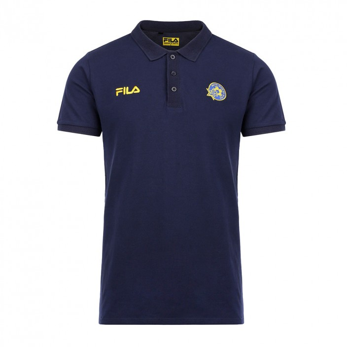 Navy FILA Polo Shirt - Men