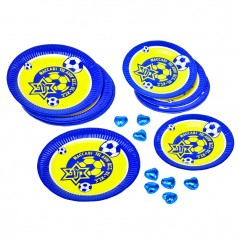 Paper plate set of 10