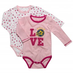 Love Long-sleeve Baby Jumper (pair)