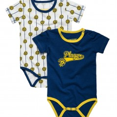 Player Short-sleeve Baby Jumper (pair)