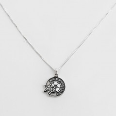 Maccabi silver pendant necklace