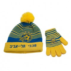 Hat & Gloves Striped Set Children