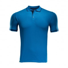 MTAFC Polo Shirt - Azure Blue
