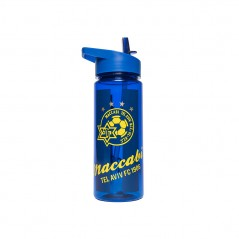 Maccabi Sports Bottle Blue Stainless Steel 550 ml