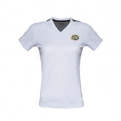 Women Short sleeve White Training Shirt