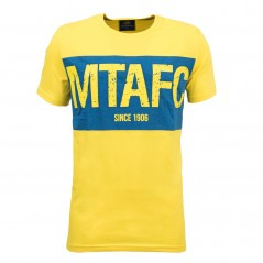 MTAFC Men Yellow Shirt