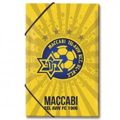 Folder with Elastic Bands PP Maccabi Tel Aviv FC