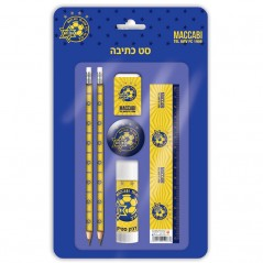 Small Writing Set Maccabi Tel Aviv