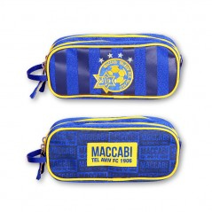 Pencil Case - 2 Sections Maccabi Tel Aviv