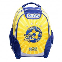 Orthopedic Knapsack Yellow & Blue Maccabi Tel Aviv