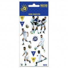 3D Puffy Stickers Maccabi Tel Aviv