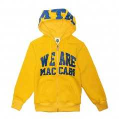 we are maccabi zipper jacket