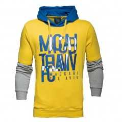 Double Sleeve Hooded Sweatshirt