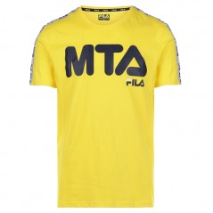 Yellow MTA FILA Shirt